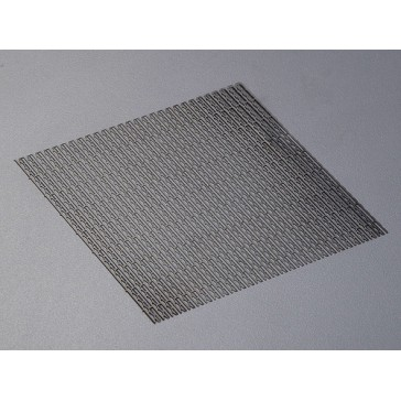 "Stainless Steel Modified Mesh Air Intake ""Type Diamond open"""