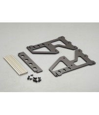DISC.. Tire Rack (Aluminum alloy & Acrylic)