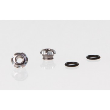 LED Holder CNC Alloy for 3mm Light, Grey