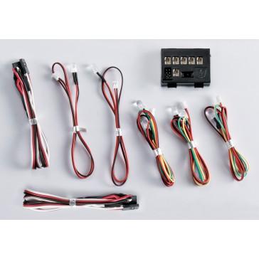 """LED Light Set """"1/10"""" w/Controller Box (8 LED's)"""