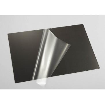 Lexan Sheet Carbon fiber pattern (203 x 305 x 0,5mm)