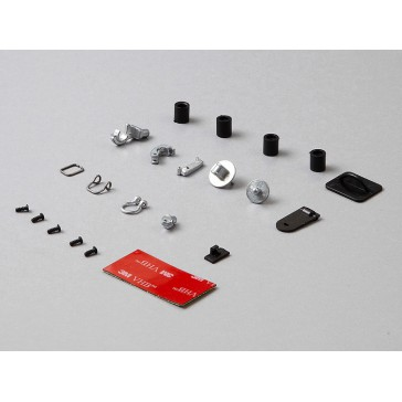 Hoes & grommets set (Die-cast alloy silver)