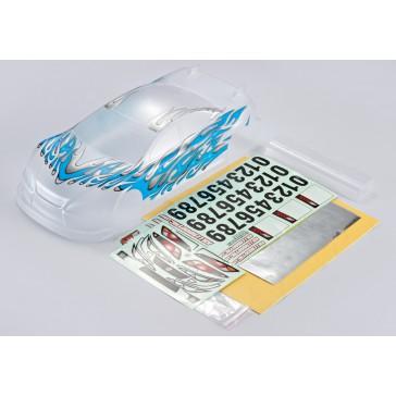 DISC.. Light Weight Racing Body 190mm Type A, Blue