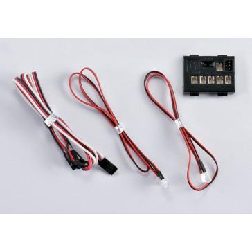 """LED Light Set """"1/10"""" w/Controller Box (4 LED's)"""