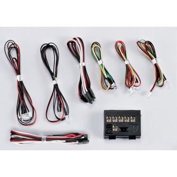 """LED Light Set """"1/10"""" w/Controller Box (10 LED's)"""