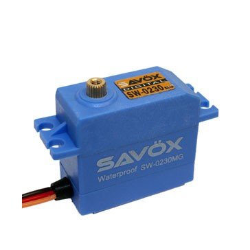 SW0230MG WATERPROOF HV DIGITAL SERVO 8KG/0.13s@6V