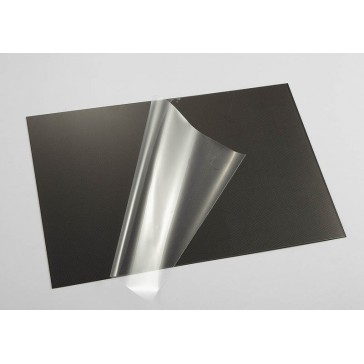 Lexan Sheet Carbon fiber pattern (203 x 305 x 0,8mm)