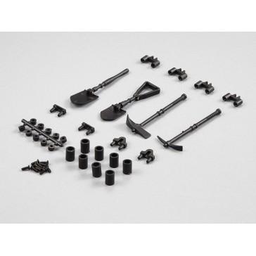 """Plastic deco set """"tools outddor"""""""