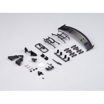 Injection parts (Wing, Mirrors, Wippers, Antenna)