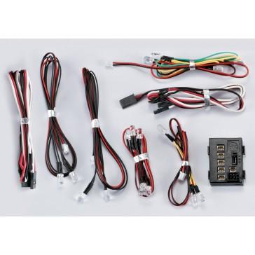 """LED Light Set """"1/10"""" w/Controller Box (18 LED's)"""