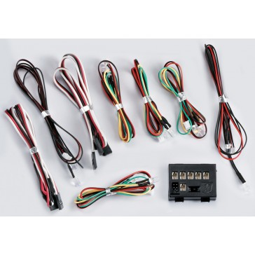 """LED Light Set """"1/10"""" w/Controller Box (12 LED's)"""