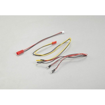 LED Unit Set for Wing Mirror (2 Yellow LEDS   Diameter: 3mm)