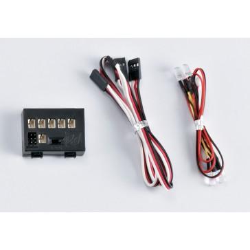 """LED Light Set """"1/10"""" w/Controller Box (2 LED's)"""