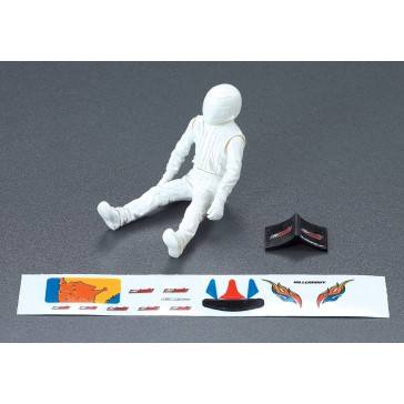 Driver Doll, white + Decal Set