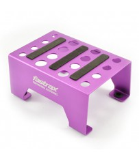 UNIVERSAL ALUMINIUM CAR STAND PURPLE