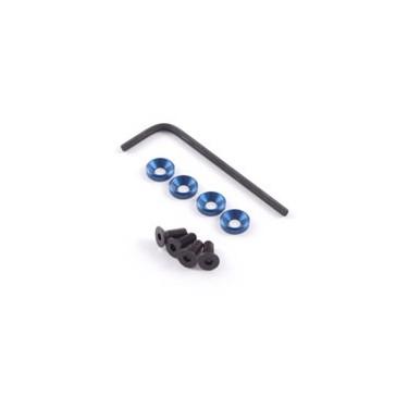 M3 ENGINE MOUNTS w/F.H.SCREWS BLUE