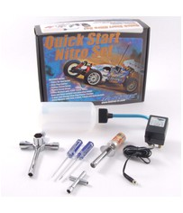 NITRO STARTER BOX w/2x Wrench s/drivers,starter,chgr,bottle