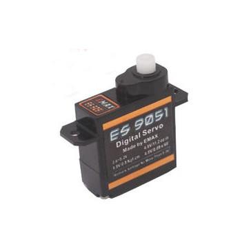 ES9051 - Digital  Servo 0,09sec - 0,8kg - 19,74x8,34x23,25mm 4,1g