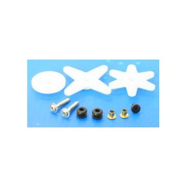 Servo spare parts : Horn Set & Screws for ES3103