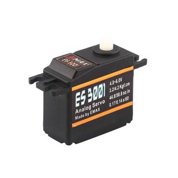 ES3001 - Analog Servo 0,14sec - 4,2kg - 39x19x35mm 43g