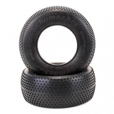 Short Course Tyre - Mini Pin - Yellow (pr)