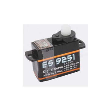 ES9251 - Digital Servo 0,08sec - 0,27kg - 18x8x17mm 2,5g