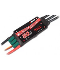 Brushless Controller Simon Serie UBEC - 80amp (81g, 86x38x12)