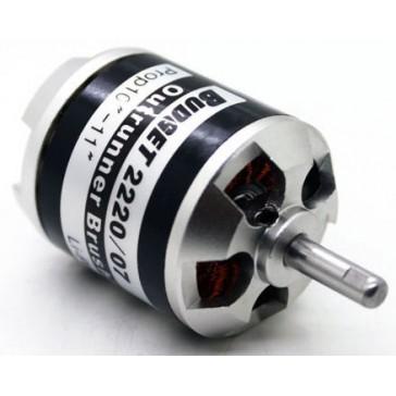 DISC.. Brushless outrunner budget motor - 2220 (930kv, 85g)
