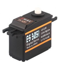 DISC.. ES3051 - Digital  Servo 0,14sec - 4,2kg - 39x19x35mm 43g
