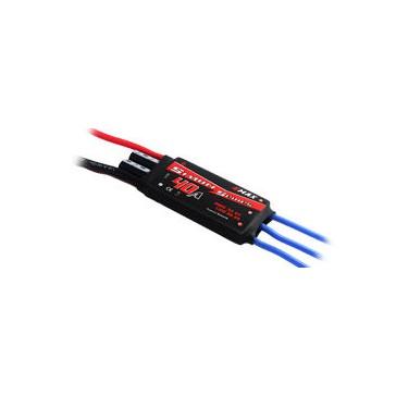 Brushless Controller Simon Serie UBEC - 40amp (41g, 73x28x12)