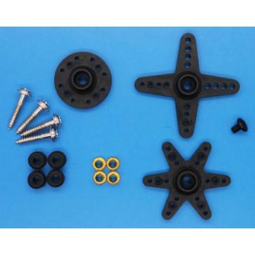Servo spare parts : Horn Set & Screws for ES9258