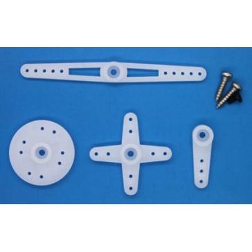 Servo spare parts : Micro Horn Set&Screws for ES08A/ES08D