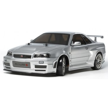 RC Skyline GT-R R34 drift TT02D