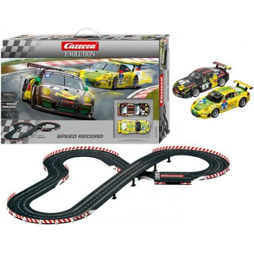 Speed Record circuit Evolution