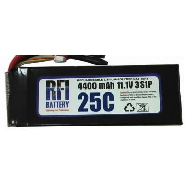 DISC..Lipo Batterij 3000mAh 25C/50C 18,5V (5S) 24x50x148 - 380g EC3