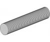 Tige filetée ACIER 1000 mm x M2,5