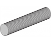 Tige filetée ACIER 1000 mm x M3