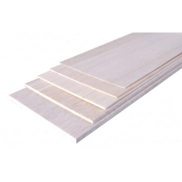 Planche BALSA 1000 x 100 x  0.8 mm