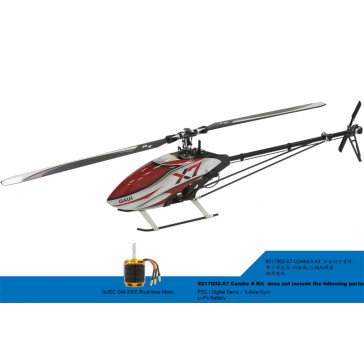 DISC.. X7 FES Helico Combo (A) Kit (Scorpion motor)