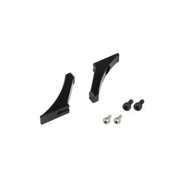 DISC.. FES X4 CNC Main Grip Levers (Black anodized)