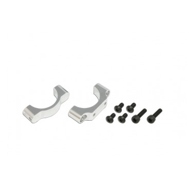 DISC.. X7 CNC Tail Support Clamp (Silver anodized)