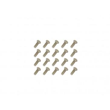 DISC.. Machine Screws(M1.4x4)x20pcs