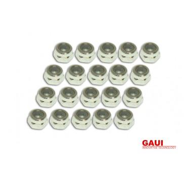 DISC.. Nylon Lock Nut (N3x5.5L)x20
