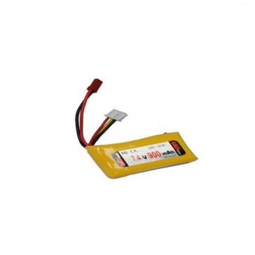 DISC.. GUEC GB-080 Li-Po Battery (7.4V 900mAh)