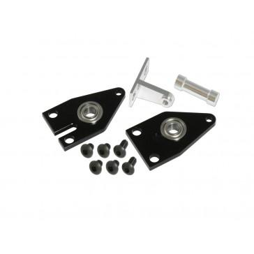 DISC.. X5 CNC Tail Fram Set(Embed) (Black anodized)