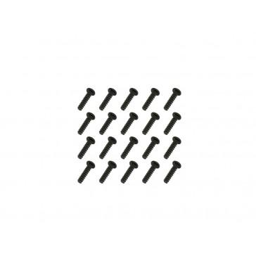 DISC.. Self Taping Screws-Black(1.4x5)x20pcs