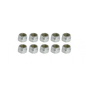 DISC.. Nylon Lock Nut (N4x7L)x10pcs
