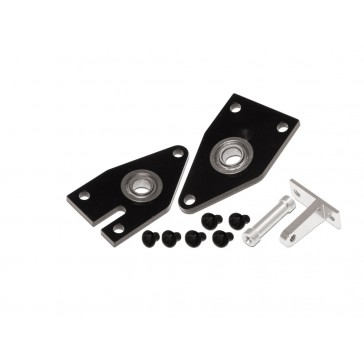 DISC.. X5 CNC Tail Fram Set (Black anodized)