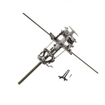 DISC.. CNC Main Rotor Head Ass'y ( with Swashplate & Guide)