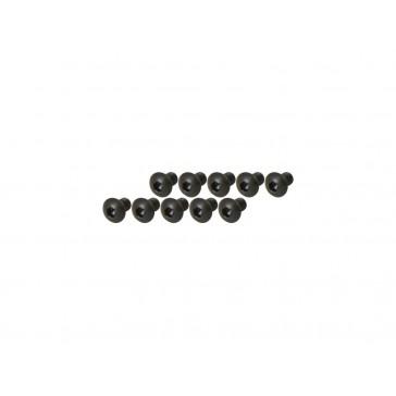 DISC.. Socket Head Button Screw - Black (M3x5)x10pcs